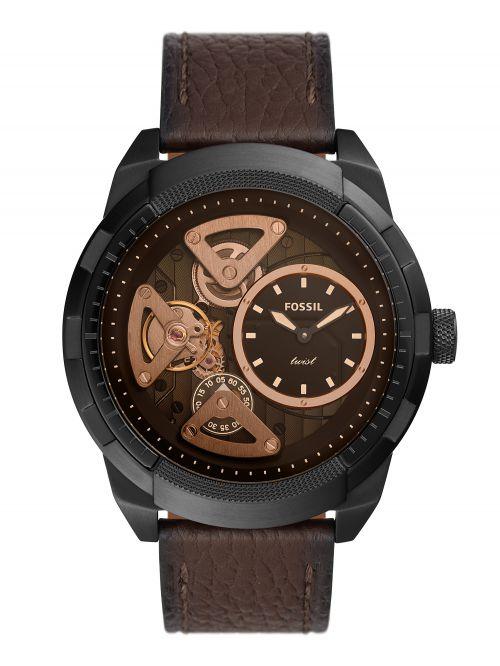 שעון יד FOSSIL לגבר קולקציית BRONSON TWIST דגם ME1172