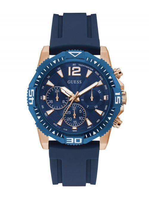 שעון יד GUESS לגבר קולקציית COMMANDER דגם GW0211G4