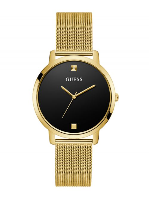 שעון יד GUESS לאישה קולקציית NOVA עם רצועת מתכת דגם GW0243L2