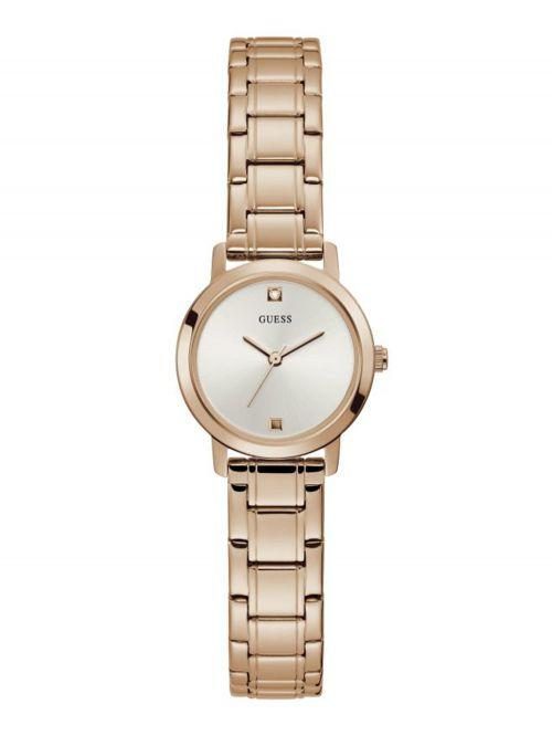 שעון יד GUESS לאישה קולקציית Mini Nova בצבע רוז-גולד דגם GW0244L3