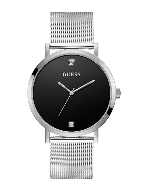 שעון יד GUESS לגבר קולקציית SUPERNOVA בצבע כסף דגם GW0248G1
