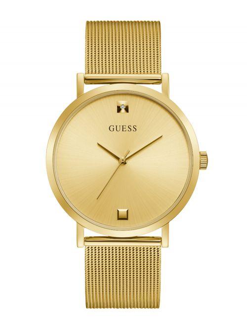 שעון יד GUESS לגבר קולקציית SUPERNOVA בצבע זהב דגם GW0248G2