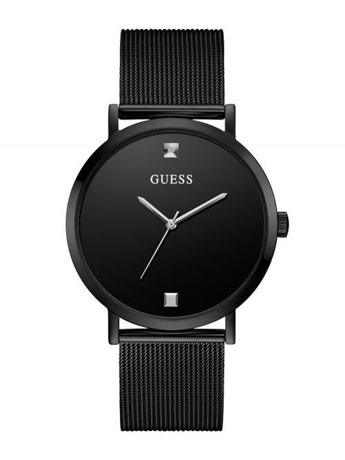 שעון יד GUESS לגבר קולקציית SUPERNOVA בצבע שחור דגם GW0248G3