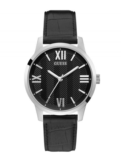 שעון יד GUESS לגבר קולקציית CAMPBELL עם רצועת עור דגם GW0250G1