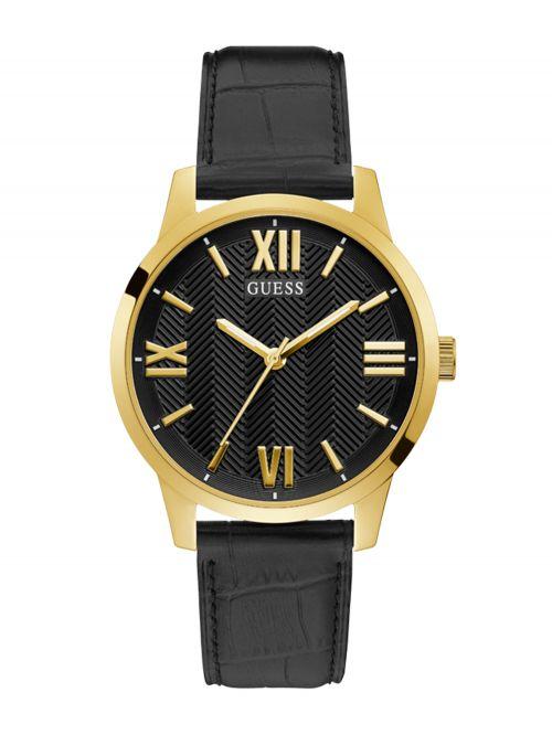 שעון יד GUESS לגבר קולקציית CAMPBELL עם רצועת עור דגם GW0250G2