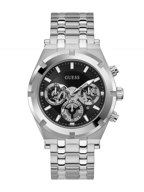 שעון יד GUESS לגבר קולקציית CONTINENTAL דגם GW0260G1