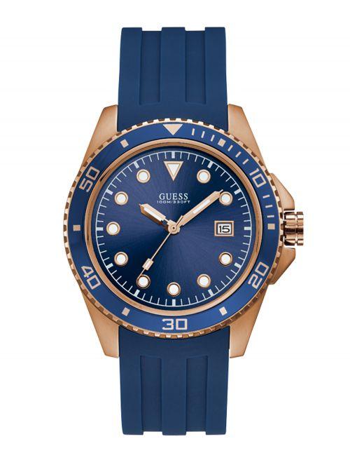 שעון יד GUESS לגבר קולקציית CREW דגם W1109G3