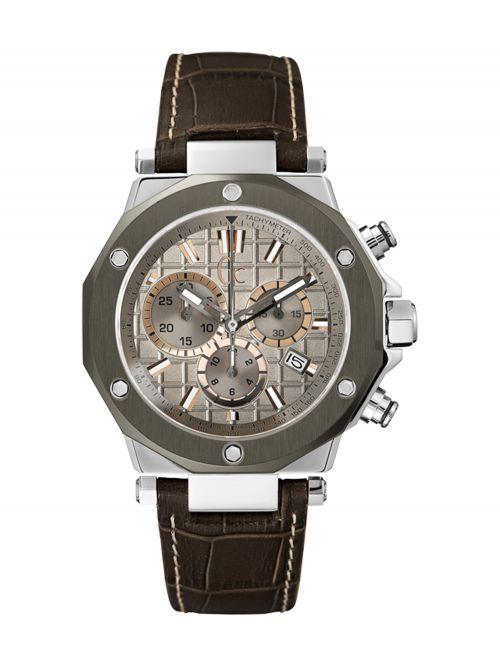שעון יד GC לגבר עם מנגנון שוויצרי קולקציית GC-3 דגם X72026G1S