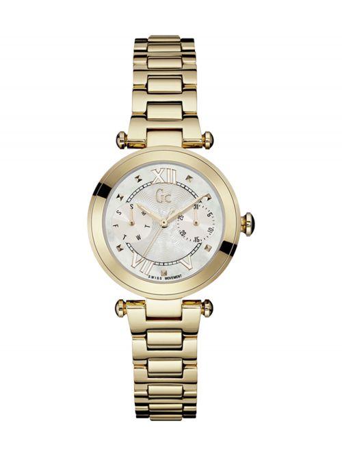 שעון יד GC לאישה קולקציית LadyChic עם רצועת מתכת דגם Y06008L1