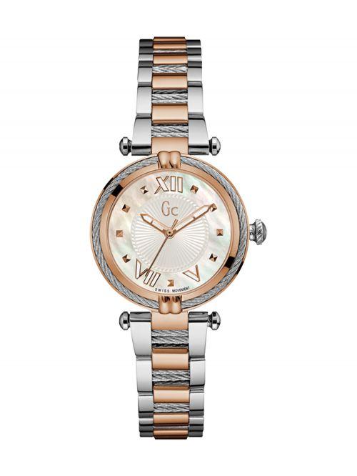 שעון יד GC שוויצרי לאישה קולקציית CABLE CHIC דגם Y18002L1