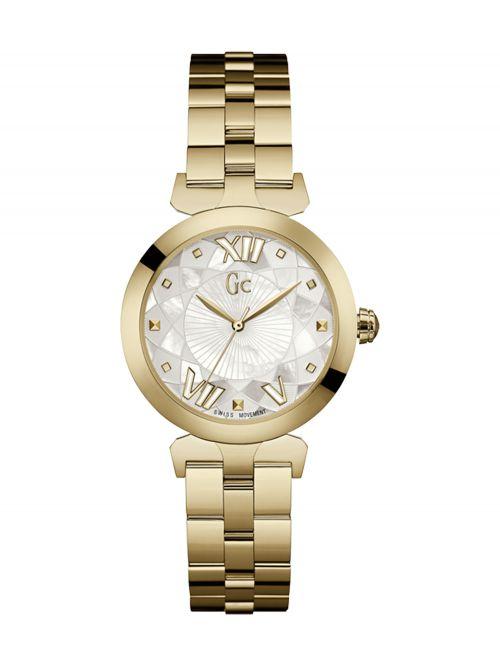 שעון יד GC לאישה עם מנגנון שוויצרי קולקציית LADY BELLE דגם Y19003L1