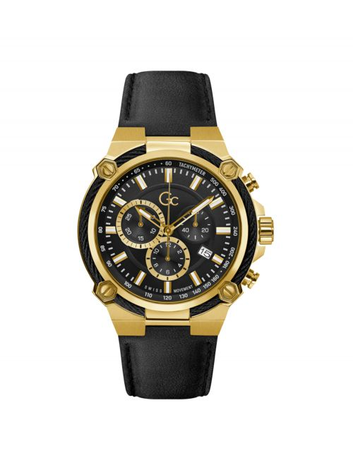 שעון יד GC לגבר קולקציית SPORT CHIC דגם Y24011G2MF