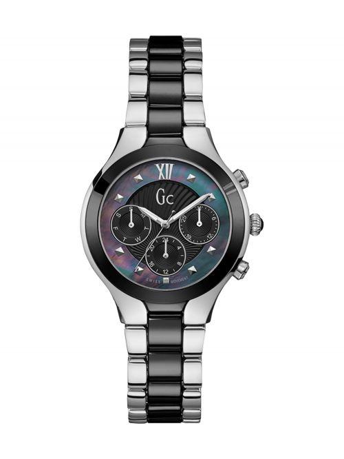 שעון יד GC לאישה עם מנגנון שוויצרי קולקציית RADIANCE דגם Y30002L2