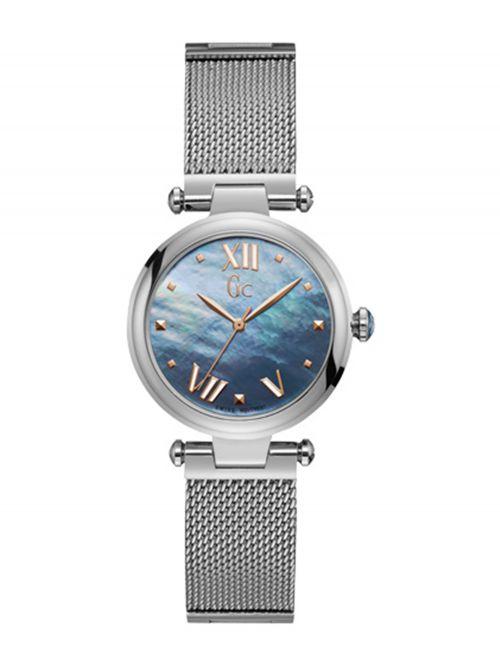 שעון יד GC עם מנגנון שוויצרי לאישה קולקציית PURE CHIC דגם Y31001L7