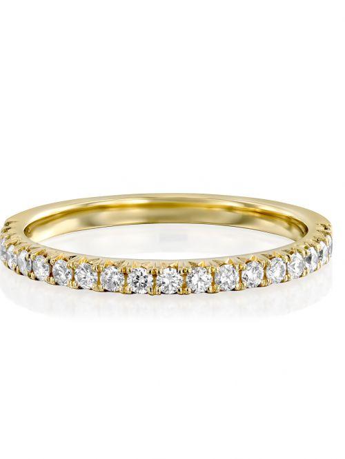 טבעת זהב  NAOMI   משובצת יהלומים