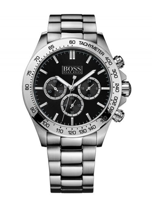 שעון יד HUGO BOSS לגבר עם רצועת מתכת קולקציית IKON דגם 1512965