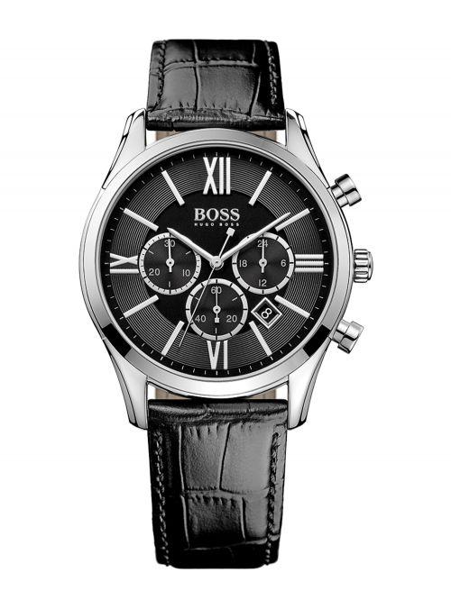 שעון יד HUGO BOSS לגבר קולקציית AMBASSADOR דגם 1513194