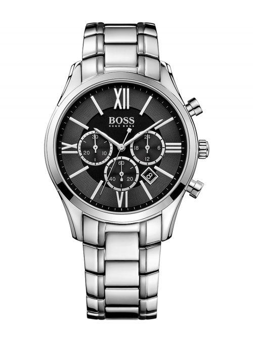 שעון יד HUGO BOSS לגבר עם רצועת מתכת קולקציית AMBASSADOR דגם 1513196