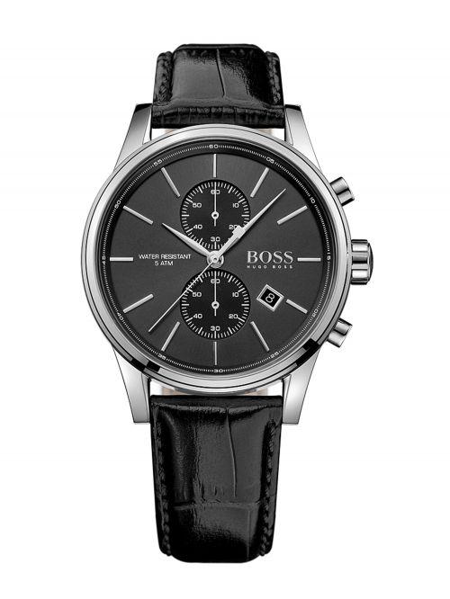 שעון HUGO BOSS לגבר עם רצועת עור קולקציית JET דגם 1513279