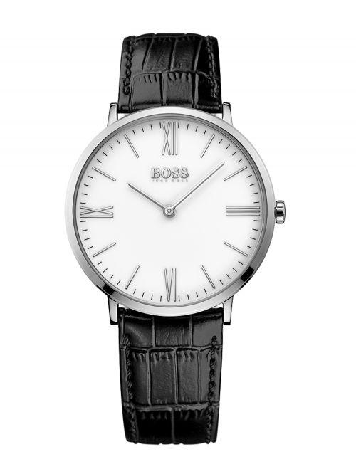שעון יד HUGO BOSS לגבר עם רצועת עור קולקציית JACKSON דגם 1513370