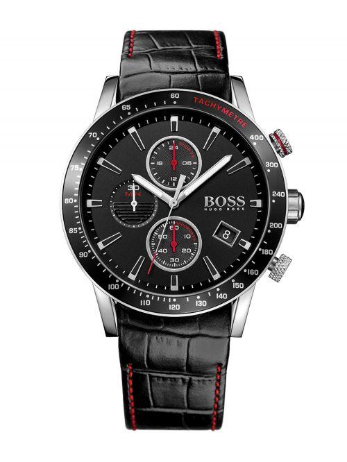 שעון HUGO BOSS לגבר עם רצועת עור קולקציית RAFALE דגם 1513390