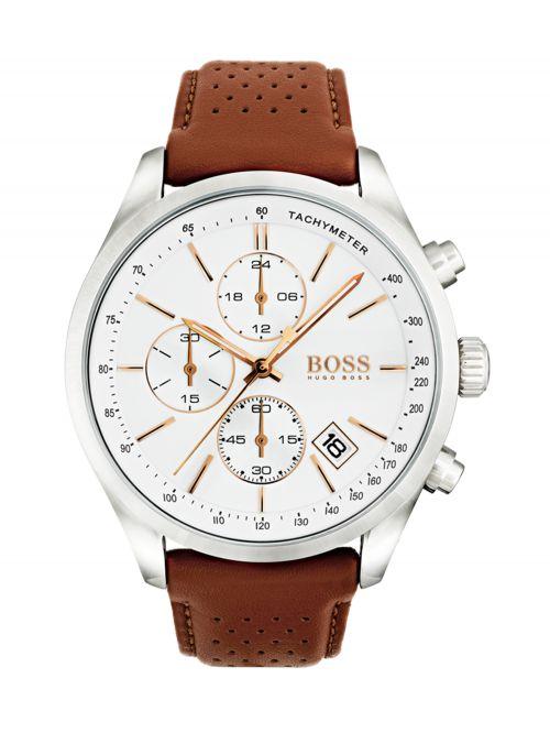 שעון יד HUGO BOSS לגבר קולקציית GRAND PRIX דגם 1513475