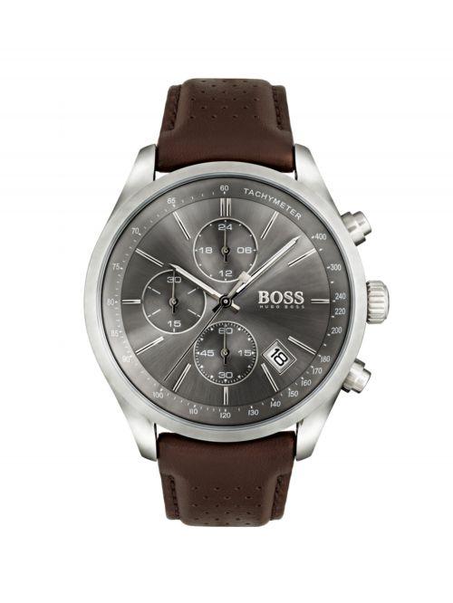 שעון יד HUGO BOSS לגבר קולקציית GRAND PRIX דגם 1513476