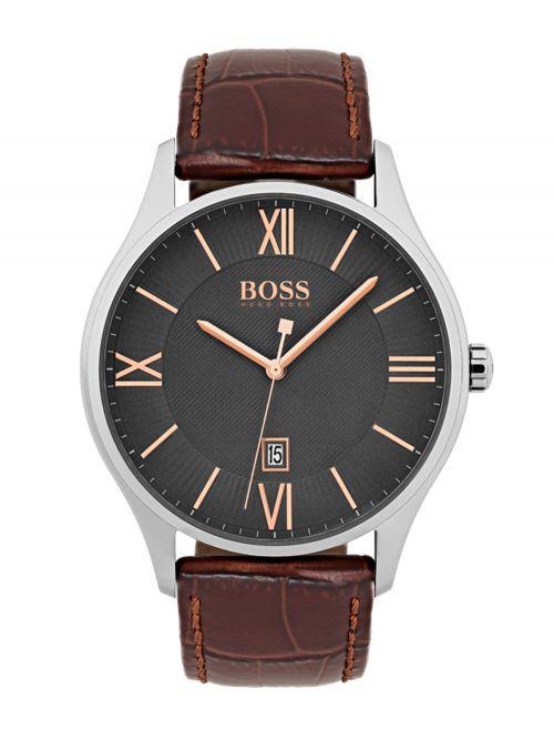שעון HUGO BOSS לגבר קולקציית GOVERNOR דגם 1513484