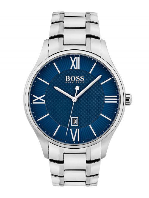 שעון יד HUGO BOSS לגבר עם רצועת מתכת קולקציית Governor דגם 1513487