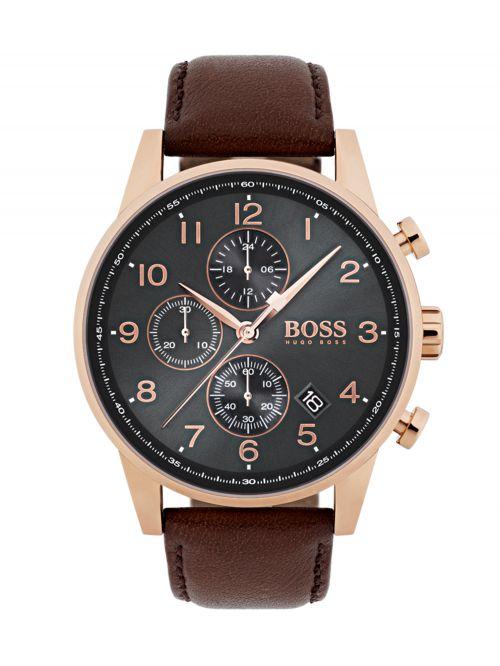 שעון יד HUGO BOSS לגבר קולקציית NAVIGATOR דגם 1513496