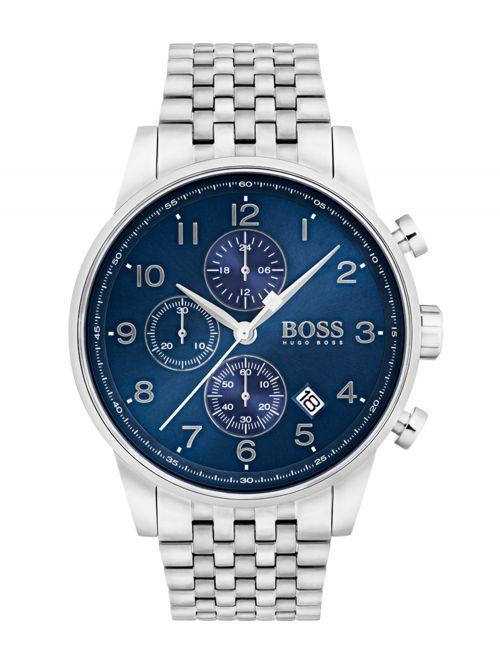 שעון HUGO BOSS לגבר קולקציית NAVIGATOR דגם 1513498