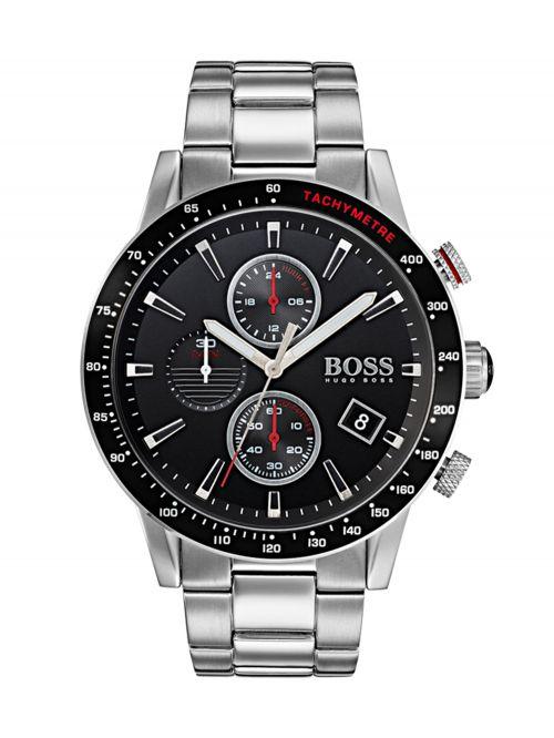שעון יד HUGO BOSS לגבר עם רצועת מתכת קולקציית RAFALE דגם 1513509