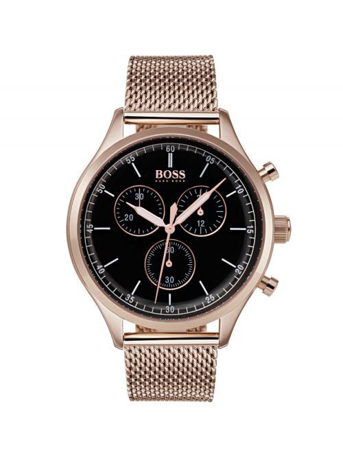 שעון HUGO BOSS לגבר בצבע נחושת קולקציית COMPANION דגם 1513548