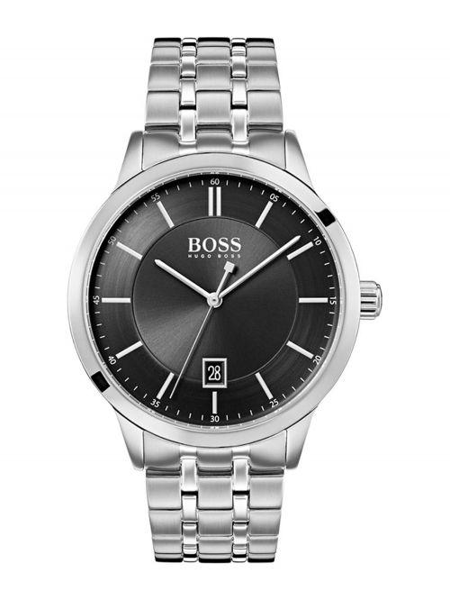 שעון יד HUGO BOSS לגבר עם רצועת מתכת דגם 1513614