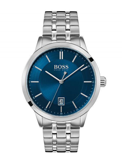 שעון יד HUGO BOSS לגבר עם רצועת מתכת דגם 1513615