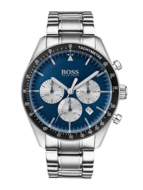 שעון יד HUGO BOSS לגבר עם רצועת מתכת קולקציית Contemporary Sport דגם 1513630
