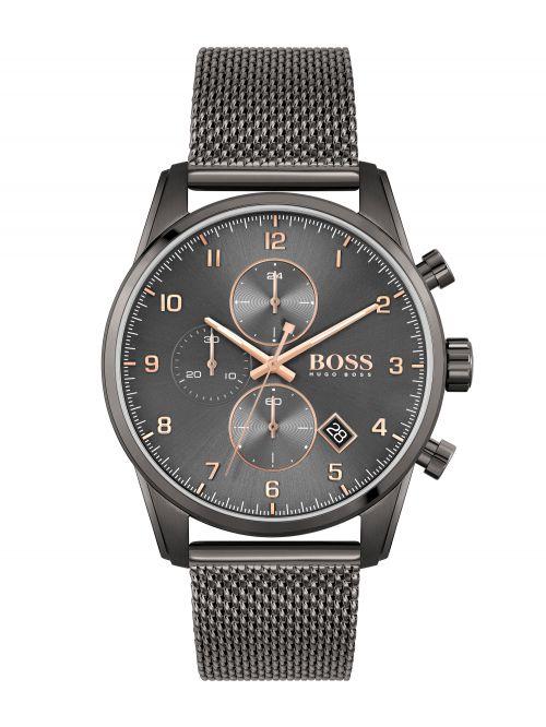 שעון יד HUGO BOSS לגבר קולקציית SKYMASTER דגם 1513837