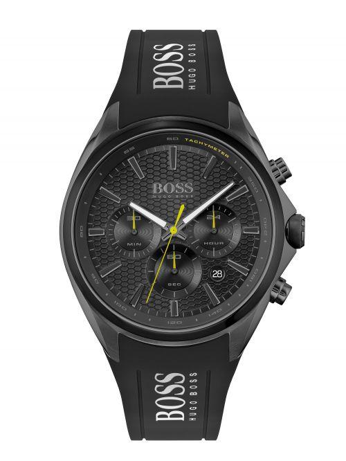 שעון יד HUGO BOSS לגבר קולקציית ATHLEISURE עם רצועת סיליקון דגם 1513859