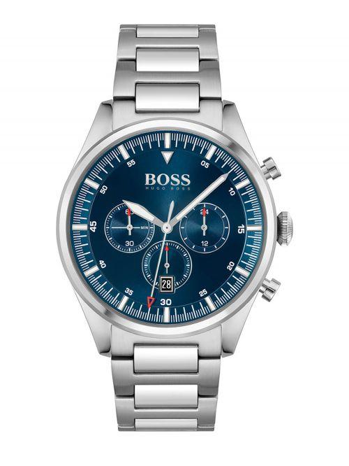 שעון HUGO BOSS לגבר קולקציית  PIONEER דגם 1513867