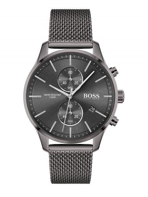 שעון HUGO BOSS  לגבר בצבע שחור קולקציית ASSOCIATE דגם 1513870
