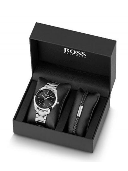 סט שעון וצמיד HUGO BOSS קולקציית CIRCUIT לגבר דגם 1570084