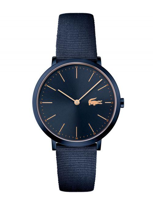 שעון LACOSTE לאישה בצבע כחול קולקציית MOON דגם 2000999