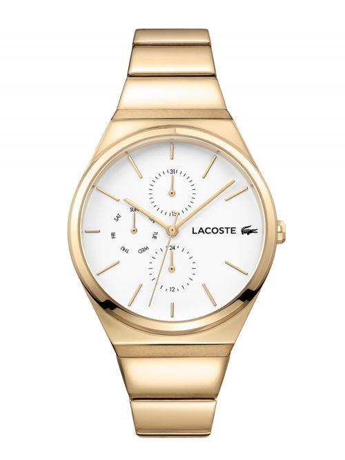 שעון יד LACOSTE לאישה בצבע זהב דגם 2001037