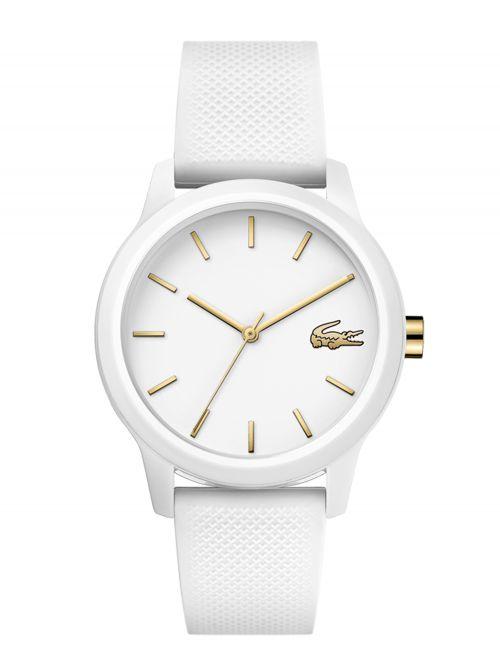 שעון יד LACOSTE לאישה עם רצועת סיליקון דגם 2001063