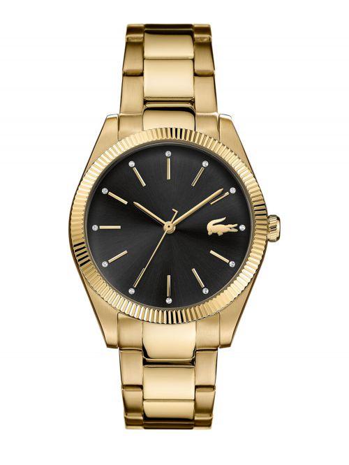 שעון יד LACOSTE לאישה בצבע זהב דגם 2001088