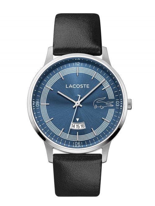 שעון יד LACOSTE לגבר עם רצועת עור קולציית MADRID דגם 2011034