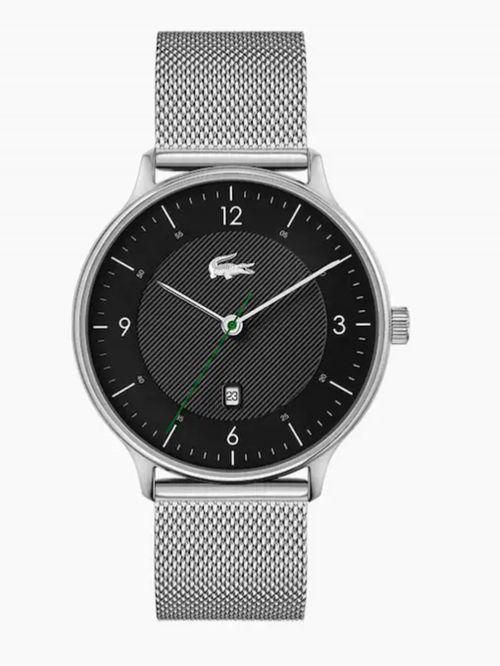 שעון יד LACOSTE לגבר קולקציית LACOSTE CLUB בצבע כסף דגם 2011118