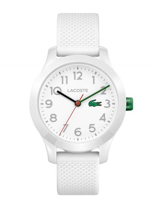 שעון יד LACOSTE לילדים עם רצועת סיליקון דגם 2030003
