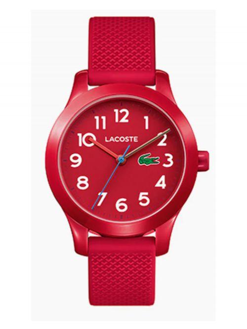 שעון יד לילד בצבע אדום רצועת סיליקון LAC-2030004