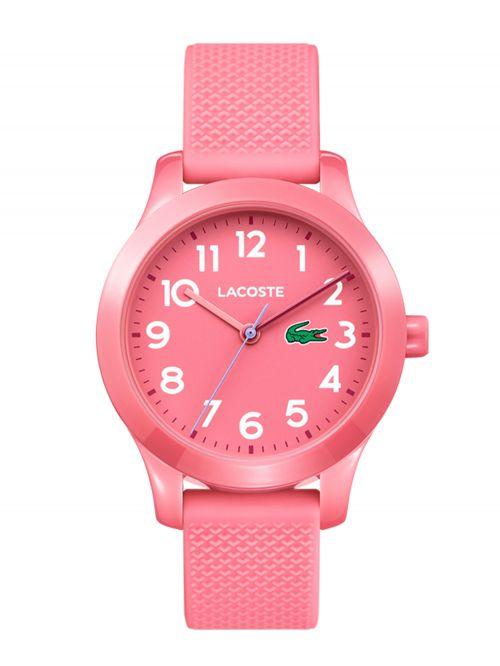 שעון יד LACOSTE לילדים עם רצועת סיליקון דגם 2030006